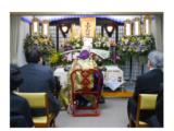 エシカル家族葬 生花祭壇